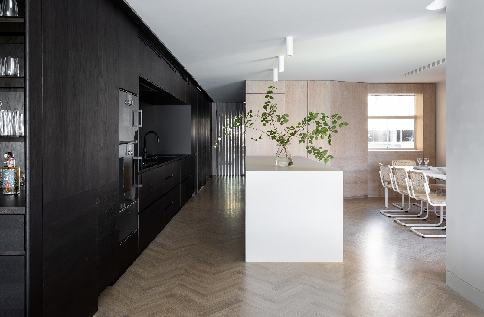 Kirribilli Apartment kitchen- an interior fit-out project by McGregor Westlake Architecture