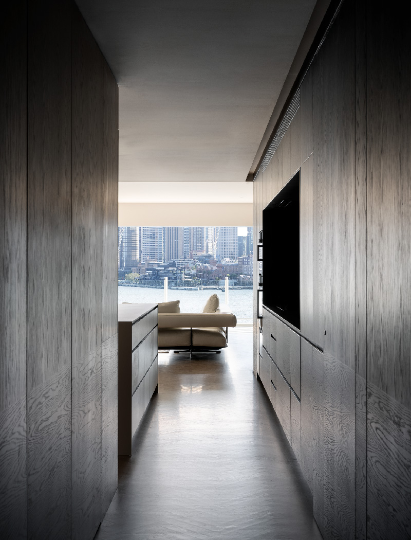 Kirribilli Apartment views- an interior fit-out project by McGregor Westlake Architecture