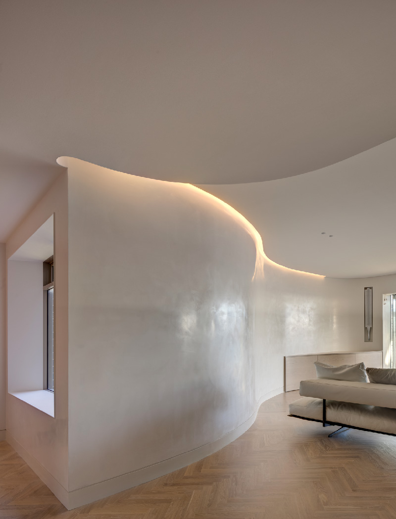 Kirribilli Apartment living- an interior fit-out project by McGregor Westlake Architecture