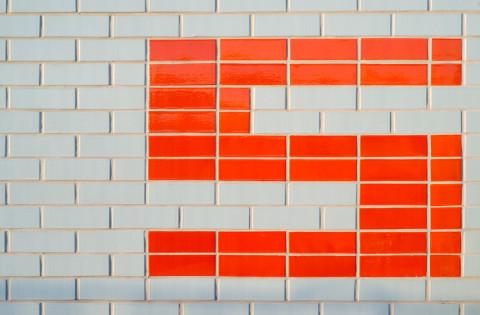 Sydenham Station Wall Work