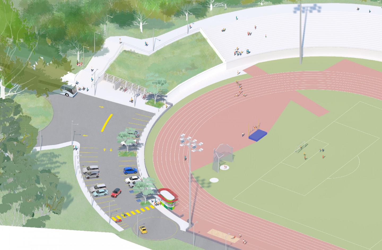 E.S Marks Athletics Field upgrade