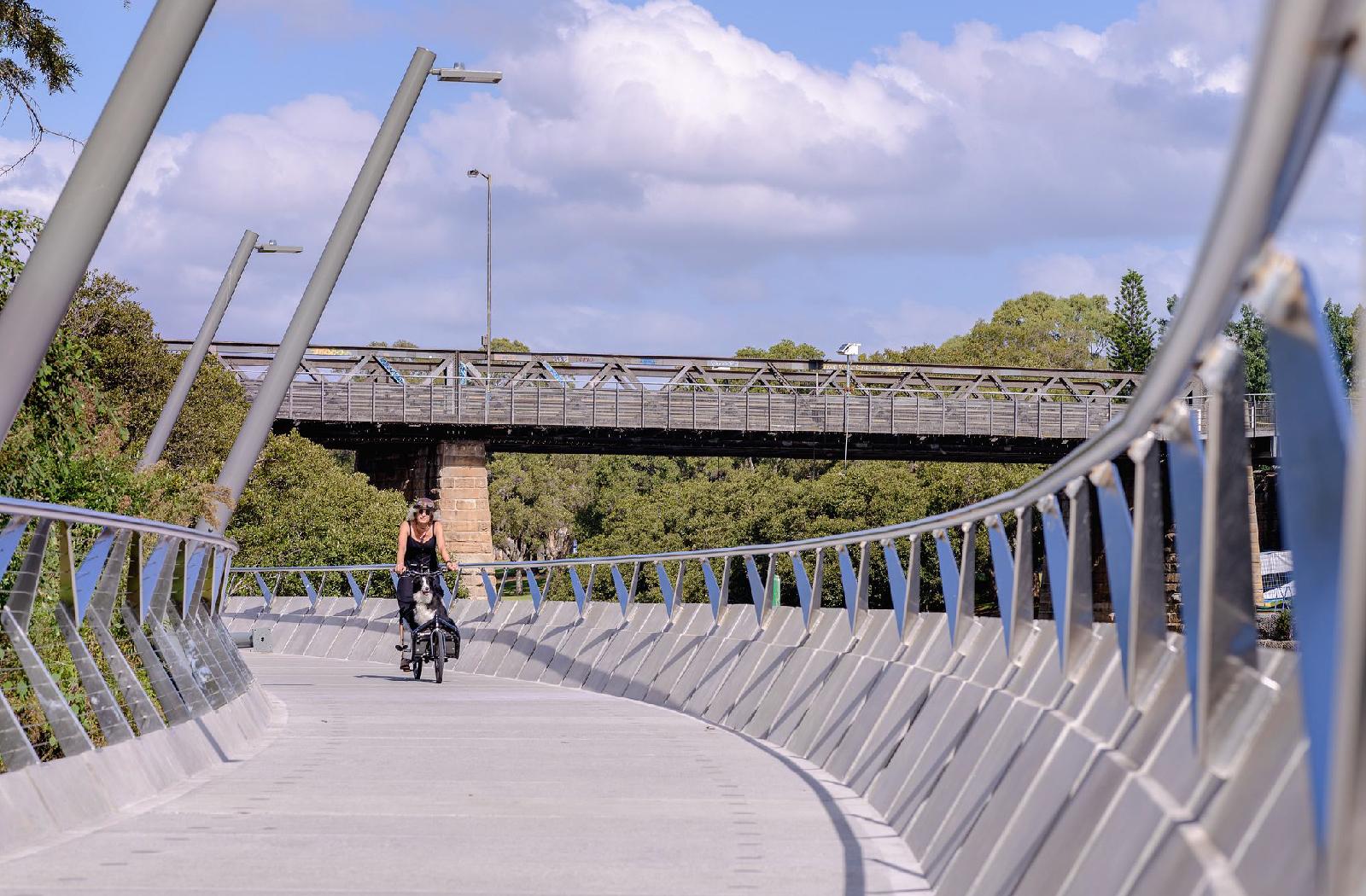 The Parramatta Escarpment Boardwalk - an urban design project by McGregor Westlake Architecture