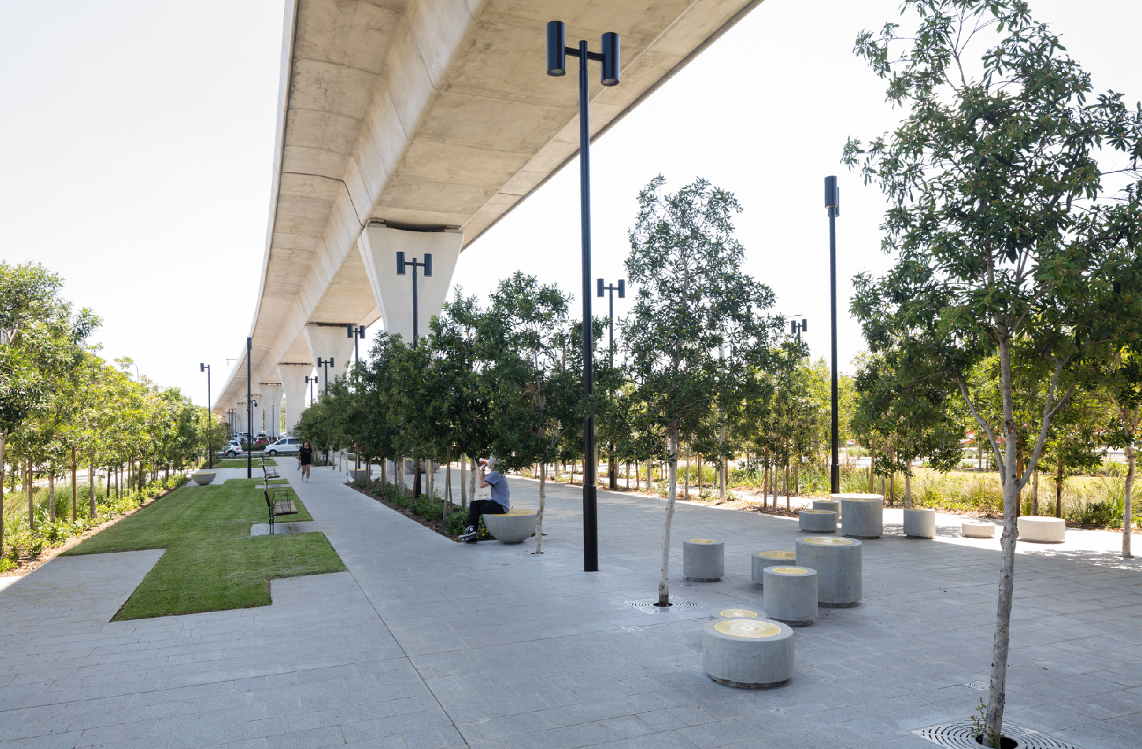 North West Metro station concept by McGregor Westlake Architecture