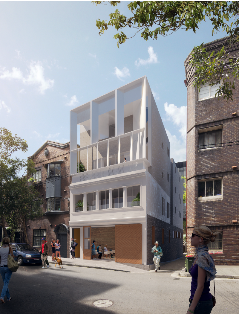 Hardie Street Apartments by McGregor Westlake Architecture and JILA